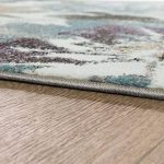 Créateur Tapis Moderne Salon Fleurs Motif Pastel Tons En Vert Bleu Crème, Dimension:160x220 cm de la marque Paco Home image 1 produit