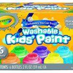 Crayola 54-5000-e-000 - Kit De Loisirs Créatifs - 6 Pots De Peinture - Métallique de la marque Crayola image 1 produit