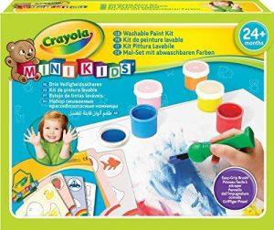 Crayola Mini Kids 81-8112-U-000 - Kit de Loisir Créatif - Mon Premier Kit de Peinture de la marque Crayola Mini Kids image 0 produit