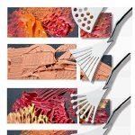 Cusfull 9 Pcs Couteaux Professionnels à Palette avec Poignées Solides En Bois Spatules En Acier Inoxydable Peinture Couteaux Kit d'Outils d' Art de la marque Cusfull image 4 produit
