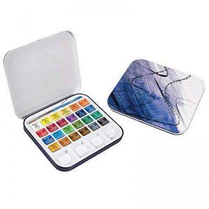 Daler-Rowney Boîte de peinture en étain Aquafine 24 couleurs de la marque Daler Rowney image 0 produit