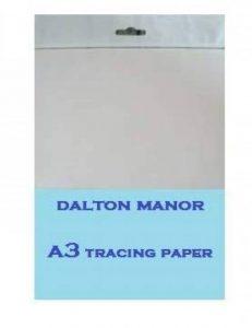 Dalton Manor Rame de papier calque Format A3 40 Pack de la marque DALTON MANOR image 0 produit