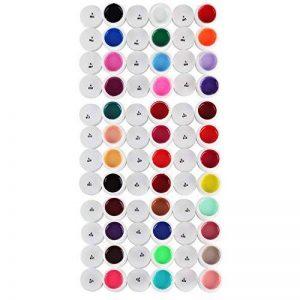 Décoration Pour Ongles Nail Art 36 Couleurs/Set UV Gel Lazulite Acrylique Poli À Retirer 5ml by DELIAWINTERFEL de la marque DeliaWinterfel image 0 produit