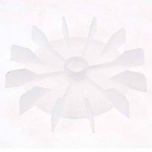 De Remplacement en plastique Blanc Inner Dia 14cm 12Turbine Moteur ventilateur de lame de la marque Sourcingmap image 0 produit
