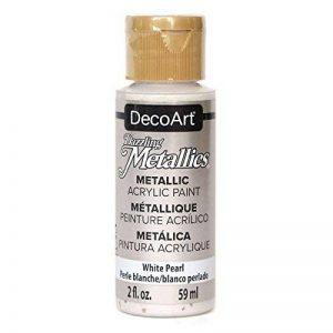 Deco Art Americana Peinture acrylique métallique, Blanc perle de la marque Deco Art image 0 produit