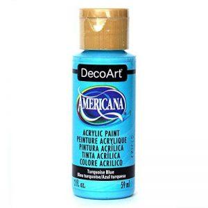 Deco Art Americana Peinture acrylique multi-usages, bleu turquoise de la marque Deco Art image 0 produit