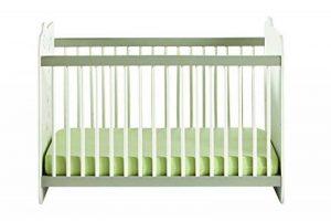 Demeyere 316201 Jungle Lit Bébé Blanc/Beige 123,4 x 67 x 90 cm de la marque Demeyere image 0 produit