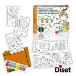 Diset 63462 - Peinture Aux Doigts de la marque Diset image 1 produit