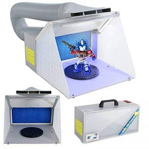Display4top Airbrush Cabine d'aspiration illuminé pour Airbrush LED de la marque Display4top image 0 produit