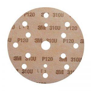 Disque abrasif support papier 3M Hookit 310U, 150 mm, Grain 80, Plein, 100 disques/boite de la marque 3M Scotch-Brite image 0 produit