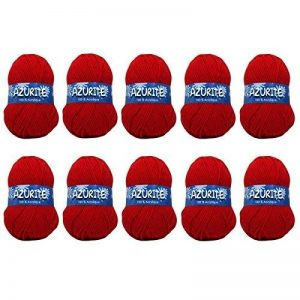 Distrifil - 10 pelotes de laine à tricoter Distrifil AZURITE 0156 pas cher 100% acrylique - 0156 de la marque Distrifil image 0 produit