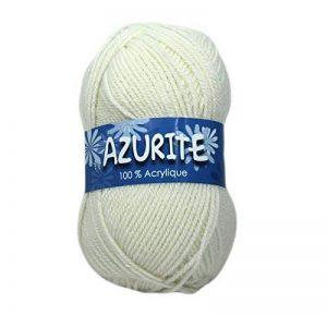 Distrifil - 10 pelotes de laine à tricoter Distrifil AZURITE 0211 pas cher 100% acrylique - 0211 de la marque Distrifil image 0 produit