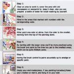 Diy peinture à l'huile par le nombre de kit, peinture peinture romantique tour Eiffel Paris Street View dessin avec des brosses 16 * 20 pouces décor de Noël décorations cadeaux (sans cadre) de la marque Dreamsy image 3 produit