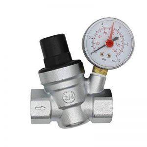 DN20 reducteur de pression d'eau 3/4 pouce regulateur de pression eau avec manomètre de la marque Oemclima image 0 produit