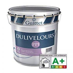 DULIVELOURS PPI - Peinture velouté poché Blanc - Velouté Poché 3.00Litre de la marque Guittet image 0 produit