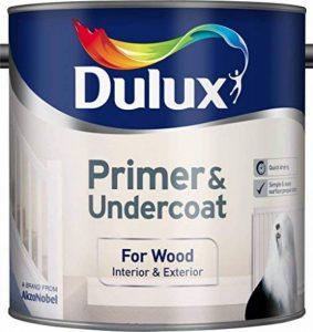 Dulux 5092090Apprêt/sous-couche pour bois, 2,5l, blanc de la marque Dulux image 0 produit