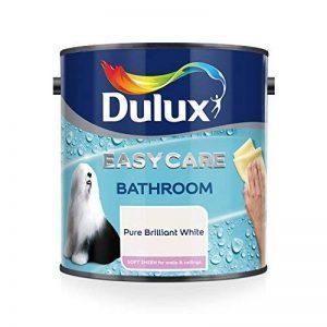 Dulux Easycare - Peinture pour salle de bain Soft Sheen, 1 L - Pure White Brilliant de la marque Dulux image 0 produit