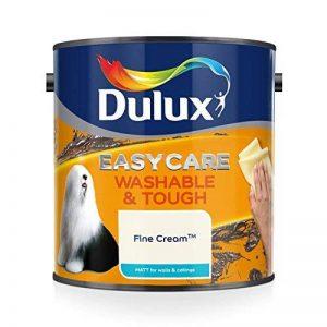 Dulux Peinture lavable facile d'entretien et résistant Mate–Fine Crème 2.5L de la marque Dulux image 0 produit