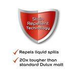 Dulux Peinture lavable facile d'entretien et résistant Mate–Fine Crème 2.5L de la marque Dulux image 3 produit