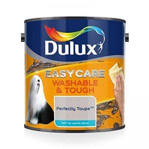 Dulux Peinture lavable facile d'entretien et résistant Mate–parfaitement Taupe 2.5L de la marque Dulux image 0 produit