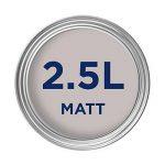 Dulux Peinture lavable facile d'entretien et résistant Mate–parfaitement Taupe 2.5L de la marque Dulux image 2 produit
