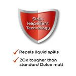 Dulux Peinture lavable facile d'entretien et résistant Mate–parfaitement Taupe 2.5L de la marque Dulux image 3 produit