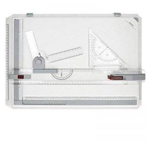 ECD Germany Planche à dessin A3 avec plaques sur les bords pour Dessin carré et travail professionnel. Accesoires inclus. de la marque ECD-Germany image 0 produit