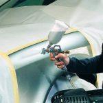 Einhell Accessoire Pistolet à peinture godet, Pression 3/3,5 bar, Capacité 0,6 l, Buse rotative, Gâchette, Godet à gravité, Régulateur jet, débit et consommation de la marque Einhell image 1 produit