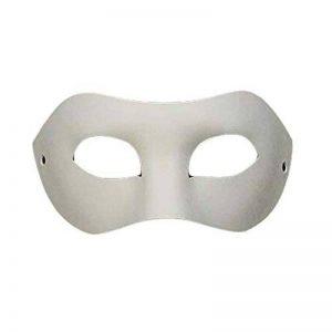 Ensemble de 10 Masque blanc des yeux Masque peinture Masque bricolage papier Masque Halloween Costum de la marque Blancho image 0 produit