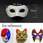 Ensemble de 10 Masque blanc des yeux Masque peinture Masque bricolage papier Masque Halloween Costum de la marque Blancho image 1 produit