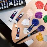 Ensemble de 24 tubes de peinture à l'huile par Zenacolor - Pack de 24 x 12mL - Peinture huile de qualité supérieure - 24 Couleurs uniques et différentes - Idéal pour débutant ou professionnel - Pigments riches - Facile à peindre sur toile, argile ou papie image 3 produit