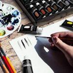 Ensemble de peinture acrylique, 48couleurs vives avec plus grand tubes. Le principal kit pour artistes, débutants ou enfants de Castle Art Supplies de la marque Castle Art Supplies image 2 produit