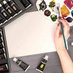 Ensemble de peinture acrylique, 48couleurs vives avec plus grand tubes. Le principal kit pour artistes, débutants ou enfants de Castle Art Supplies de la marque Castle Art Supplies image 6 produit