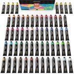 Ensemble De Peinture Acrylique Arteza, 60 Tubes De Couleurs (22ml) Avec Boite De Rangement, Pigments Riches Haute Qualité, Non Toxique, Pour Artiste Professionnel, Peintres Amateurs Et Enfants de la marque ARTEZA® image 3 produit
