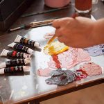 Ensemble de peinture acrylique Colore - parfait pour la peinture sur toile, argile, tissu, ongles et céramique - Pigments riches avec une qualité durable - Idéal pour les débutants, les étudiants et les artistes professionnels - Ensemble de 12 de la marqu image 4 produit