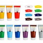 Ensemble de Peinture Acrylique XXL - 12 GROS tubes 100 ml - Fabriqué en UE - Idéal pour Débutants Étudiants Artistes Professionnels - Idéal pour Bois Toile Tissu et Papier - Tube de 12 x 100 ml de la marque Creative Deco image 1 produit