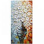 Et si j'osais - Peinture acrylique abstraite sur toile 50 x 50 cm de la marque Emmanuelle Baudry - Em'Art, digital art creators, painter and drawer image 4 produit
