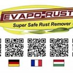EVAPO-RUST® - 1 Lt. - Agent de decollage selectif de la rouille a base d'eau pour fer, acier, fonte et chromages de la marque EVAPO-RUST® image 1 produit