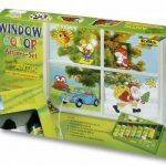 Folia 45007 - Lot de 7 tubes de peinture vitrail Window Color Funny ANTIK de la marque Folia image 1 produit