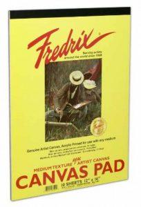 Fredrix 3501sur toile Coussinets, 12par 40,6cm de la marque Fredrix image 0 produit