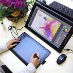 GAOMON M106K – Professionnel 10 x 6 Pouces Dessin Stylo Numérique Tablette Graphique avec San File Stylet (M106K) de la marque GAOMON image 2 produit