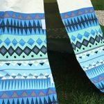 Garden Games Limited 3042 Tente De Jardin, Aztec Wigwam Avec Cadre En Bois Et Toile De Coton Naturelles, Bleu de la marque Garden Games Limited image 3 produit