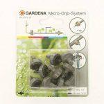 Gardena 831229 Goutteur Régulateur de Pression Fin de Ligne 4 L/H-Par 10, Noir de la marque Gardena image 1 produit