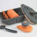 Génial - Kit Complet tampon à peindre: kit rouleau peinture bac - 1 raclette anti-goutte - 1 manche - 1 grande recharge - 1 recharge medium - tampon de finition de la marque Génial image 1 produit
