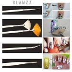 Glamza 20PC Nail Art Design Gel Peinture Dotting Pen & Brosse de manucure pédicure kit de la marque Glamza image 3 produit