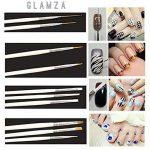 Glamza 20PC Nail Art Design Gel Peinture Dotting Pen & Brosse de manucure pédicure kit de la marque Glamza image 4 produit