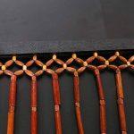GONGFF Rideau Perlé en Bois Screen35 * 70In, Réseau De Protection De Moustique De 90X180cm,#1,35*70In de la marque GONGFF image 1 produit