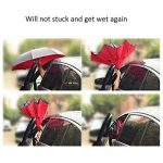 Good Sister Parapluie Inverse Port gratuit Double Couche Parapluie Inversé Automatique Stable Bloquer le vent Parapluie Inversé Pliant pour Femme Anti UV … de la marque Good Sister image 5 produit