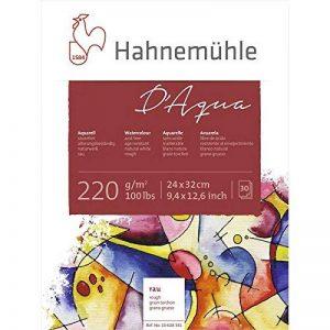 Hahnemühle - D'aqua -Bloc papier pour peinture aquarelle - 24X32cm - 220 g/m² de la marque Hahnemühle image 0 produit