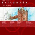 Hahnemühle - Bloc collé 4 côtés - Britannia - 36x48cm - 300g/m² - 12 feuilles - Grain fin de la marque Hahnemuhle image 4 produit